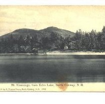 Image of Mt Kearsarge from Echo Lake, North Conway - Mt Kearsarge from Echo Lake, North Conway