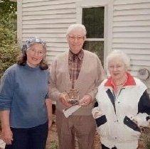 Image of Three unidentified people (Landry?) - Three unidentified people  (Landry?)