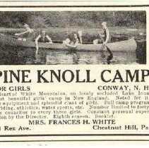 Image of Pine Knoll Camp, Albany - Description of Pine Knoll camp, Albany