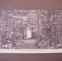 Image of Road to Russell Cottage, North Conway - Road to Russell Cottage, North Conway
