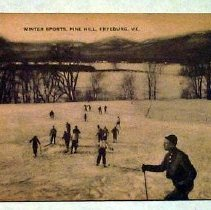 Image of Skiing at Pine Hill, Fryeburg, Maine - Skiing at Pine Hill, Fryeburg, Maine