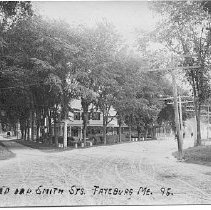 Image of Oxford and Smith Streets, Fryeburg, Maine - Oxford and Smith Streets, Fryeburg, Maine
