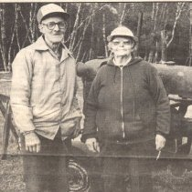 Image of Unidentified couple in Eaton - A couple in Eaton
