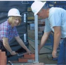 """Image of Conway Public Library, """"first brick """" - Conway Public Library, """"first brick"""""""
