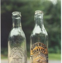 Image of White Mountain Mineral Spring Bottles - White Mountain Mineral Spring bottles