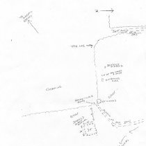 Image of Map of White Mountain Mineral Spring site (wmms3) - Map of Mineral Spring site