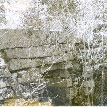 Image of Stone bridge on main road to Brownfield - Stone bridge on main road to Brownfield