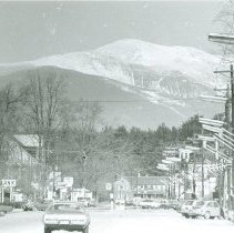 Image of Mount Washington from North Conway - Mount Washington from North Conway