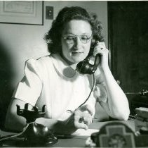 Image of Helen Zacker, office assistant -
