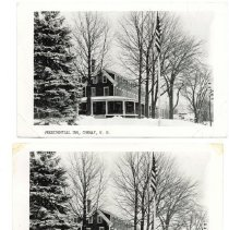 Image of Presidential Inn, Conway, NH - Two copies same post card
