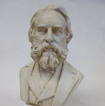 Image of Sculpture - Plaster Bust of Henry Wadsworth Longfellow