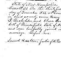 Image of Batchelder Family History