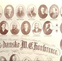 Image of Clergy, Norwegian-Danish Annual Conference, 1901 - Clergy