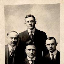 Image of Minister's Quartet, H.S. Frank, C.B. Frank, E.J. Brand, H.C. Schmidt - Clergy
