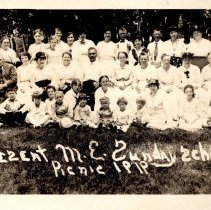 Image of Le Crescent Sunda School picnic 1919