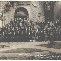 Image of Minnesota Conference M.E. Church, September 26, 1912, Worthington, Minn - 5A Annual Conference