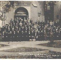 Image of Minnesota Conference M.E. Church, September 16, 1912, Worthington, MN