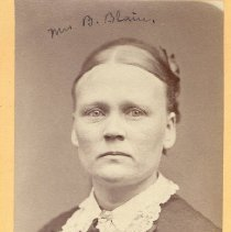 Image of Mrs. B. Blain - Clergy