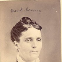 Image of Mrs. A. Cressey - Clergy