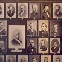 Image of Norwegian Danish Conference composite  photograph 1880