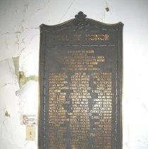 Image of Joyce WWI plaque