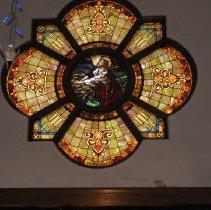 Image of Joyce UMC interior sancuary window
