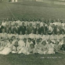 Image of Choir at Red Rock 1913 - 6M Red Rock Camp Meeting