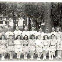 Image of 1946, 2nd camp, staff photograph - 6F Lake Koronis