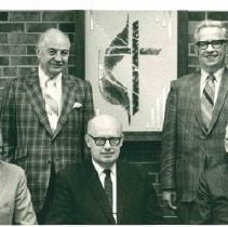 Image of Minnesota Annual Conference Cabinet, 1969-1970 - Clergy