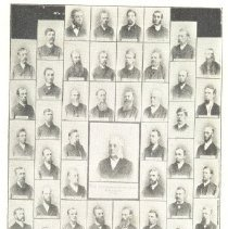 Image of North West Swedish Confernece of the M.E. Church 1888 - Clergy
