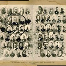 Image of Clergy of the Minnesota Conference, Evangelical Association, 1898 - Clergy