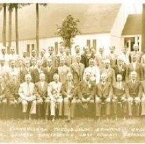 Image of Evangelical Theological Seminary Group, Lake Koronis 1940 - 6F Lake Koronis Assembly Grounds