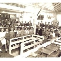 Image of Evangelical Dining Hall crew at Minnesota State Fair 194? - 8H West Side Hospital