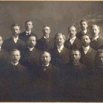 Image of Norwegian Danish Methodist Episcopal Clergy, c. 1900 - 5A Norwegian Danish Annual Conference