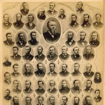 Image of Clergy, Minnesota Conference, Evangelical Association, 1884 - Clergy