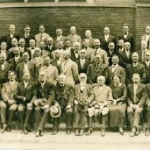 Image of First Session, Central Northwest Conference, Methodist Episcopal Church, Minneapolis, MN August, 1928 - 5A Annual Conference Central Northwest (Swedish)