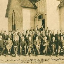 Image of 20th Annual Session, Northwestern Conference, United Evangelical Church, Slayton, MN, April 3-7, 1918 - 5A Annual Conference