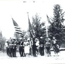 Image of World War II Veterans at Pine Bend Cemetery - Local Church