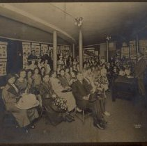 Image of Wesley, Whatsoever Club in classroom - L-Minneapolis, Wesley UMC