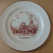 Image of Plate, Winona, Central Methodist Church - L-Winona, Central Methodist Church