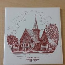 Image of Trivet, Windom Methodist Church 1902-1967 - L-Windom UMC