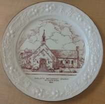 Image of Plate, Eveleth Methodist Church
