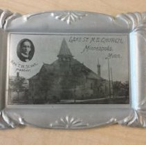 Image of Metal Tray, Lake Street M. E. Church - L-Minneapolis, Joyce UMC