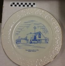 Image of Plate, Richfield, Church of Peace - L-Richfield, Church of Peace
