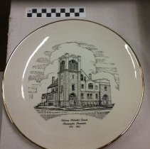 Image of Plate, Minneapolis, Calvary Methodist 1960 - L-Minneapolis, Calvary Methodist