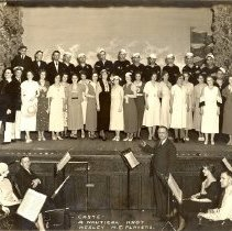 """Image of Cast of play, """"A Nautical Knot"""", Wesley M. E. Players - L-Minneapolis, Wesley UMC"""