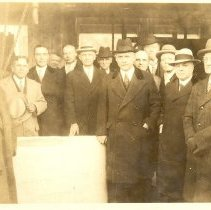 Image of Temple Cornerstone Laying 1928 - L-Minneapolis, Wesley UMC