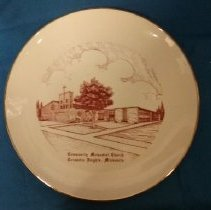 Image of Plate, Columbia Heights, Community UMC - L-Columbia Heights, Community UMC