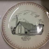 Image of plate, Minneapolis, North UMC