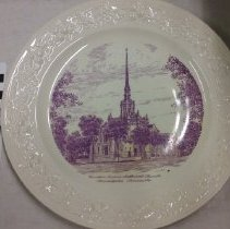 Image of Plate, Minneapolis, Hennepin Ave. UMC - L-Minneapolis, Hennepin Ave. UMC